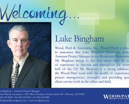 Wood/Patel Welcomes Luke Bingham