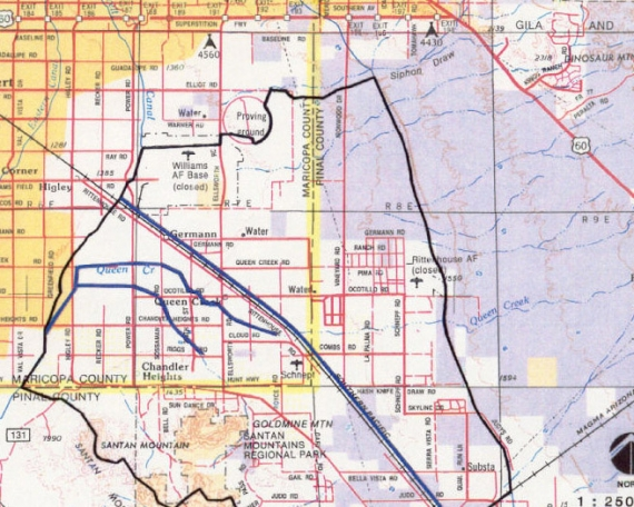 Queen Creek Area Drainage Master Study
